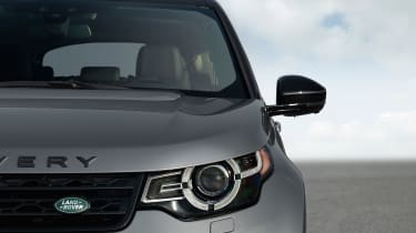 Land Rover Discovery Sport headlights
