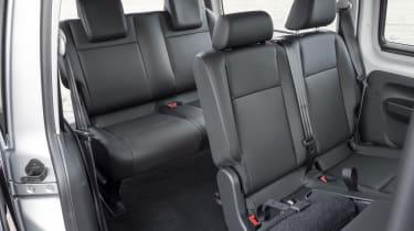 Caddy rear seats