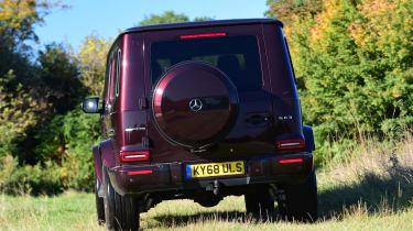 G 63 off road rear