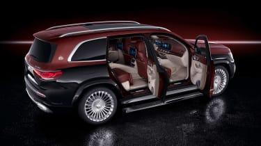 Mercedes-Maybach GLS - doors open