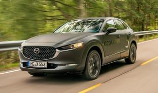 Mazda EV prototype - front