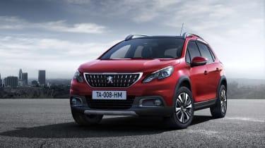 Peugeot 2008 2016 - front quarter