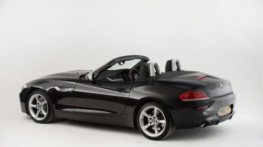 Used BMW Z4 - rear roof down