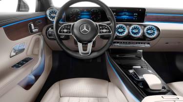 Mercedes A-Class Saloon - dash