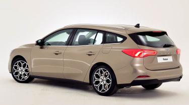 New Ford Focus Estate studio - rear