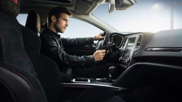 Renault Megane RS - driving