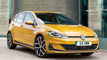 Volkswagen Golf Mk8 - front (exclusive image)