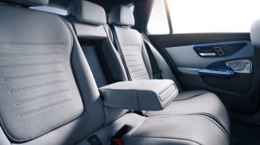 Mercedes C-Class - rear seats studio