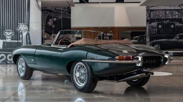 Jaguar E-Type 60 Collection - roadster rear