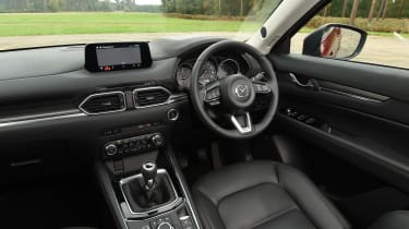 Mazda CX-5 SUV - interior