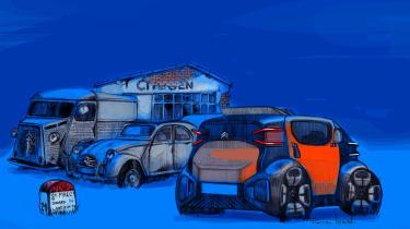 Citroen AMI ONE concept - design