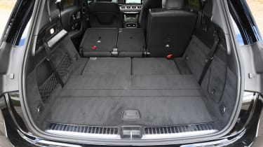 Mercedes GLE - boot seats down