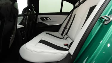 BMW M3 Competition - rear seats