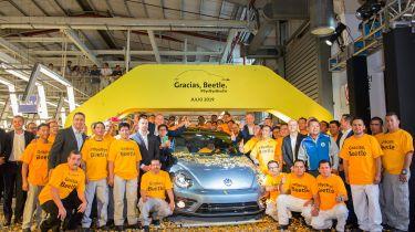 Volkswagen Beetle production line