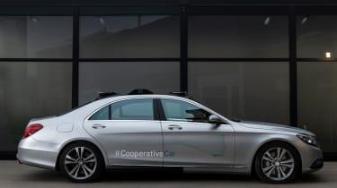 Mercedes Co-operative car - static side