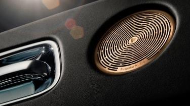 Rolls-Royce Wraith 'Inspired By Music' speaker