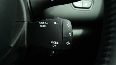 MG GS vs rivals - Renault Kadjar radio controls
