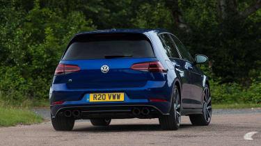 Volkswagen Golf R - rear action