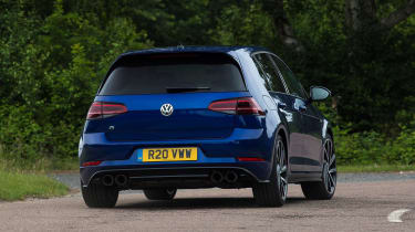 Volkswagen Golf R - rear action
