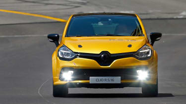 Renault Clio RenaultSport R.S.16 official - Monaco tracking 1