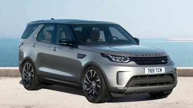 Land Rover Discovery 2017 - black pack front