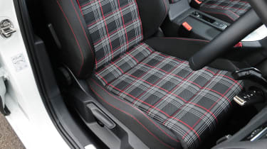 Volkswagen Golf GTI tartan seats