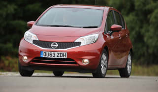 Nissan Note front cornering