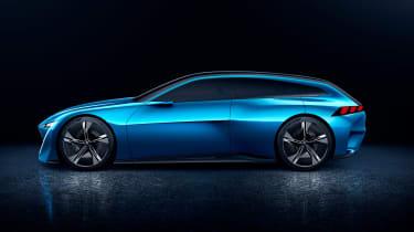 Peugeot Instinct concept - side studio