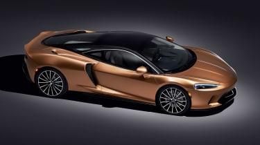 McLaren GT - above studio