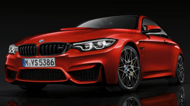 BMW 4 Series facelift 2017 - M4 front quarter