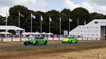 Goodwood Festival of Speed 2018 - hill climb