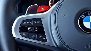BMW M8 - steering wheel detail