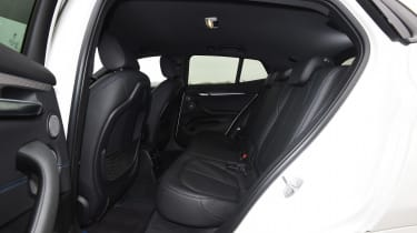 BMW X2 - rear seats