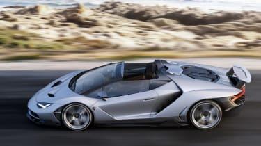Lamborghini Centenario Roadster side