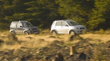 Suzuki Jimny vs Daihatsu Terios
