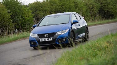 Honda Civic Sport - front action