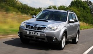 Subaru Forester front tracking
