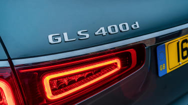 Mercedes GLS - 400 d badge