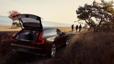 Volvo Concept Estate boot open