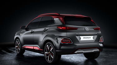 Hyundai Kona Iron Man Edition - rear