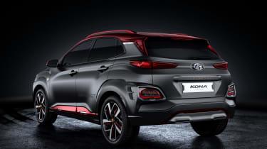 Hyundai Kona Iron Man Edition - rear
