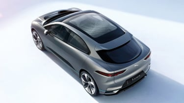 Jaguar I-Pace - studio above/rear