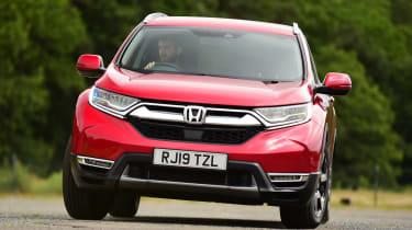 Honda CR-V - front action