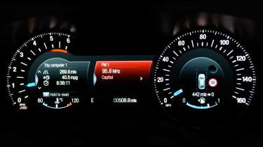 Ford Mondeo Vignale - dials