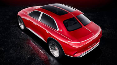 Vision Mercedes-Maybach SUV - studio rear static