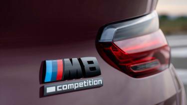 BMW M8 Gran Coupe - M8 badge