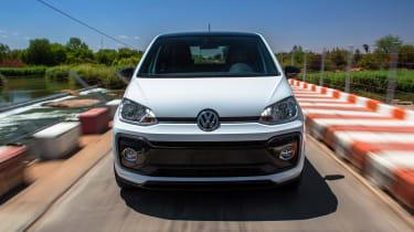 Volkswagen up! GTI prototype - front tracking 2