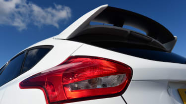 Ford Focus RS first UK drive - spoiler