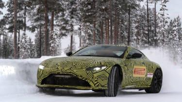 Aston Martin Vantage prototype - front drift
