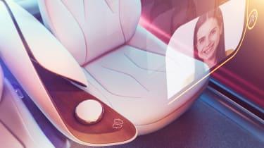 Volkswagen I.D Vizzion - studio seat detail